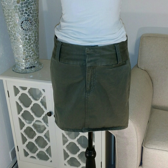 65% off Old Navy Dresses & Skirts - Army green mini skirt ...