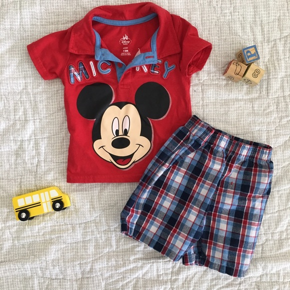 64% off Disney Other - Disney baby Mickey Mouse outfit ...