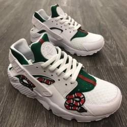 e125d22158b7 Nike Shoes Gucci Snake White Huarache Poshmark