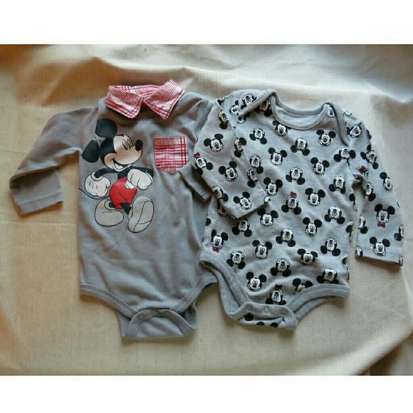 71% off Disney Other - Disney Mickey Mouse Baby Boy Bundle ...