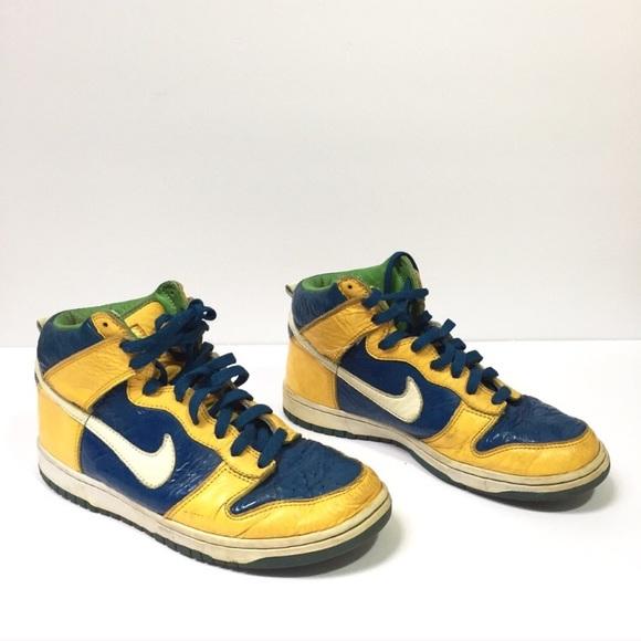Navy Blue Nike Shoes Men