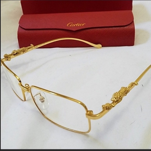 8b974f8141d Cartier Accessories Gold Panther Frame Gl Poshmark