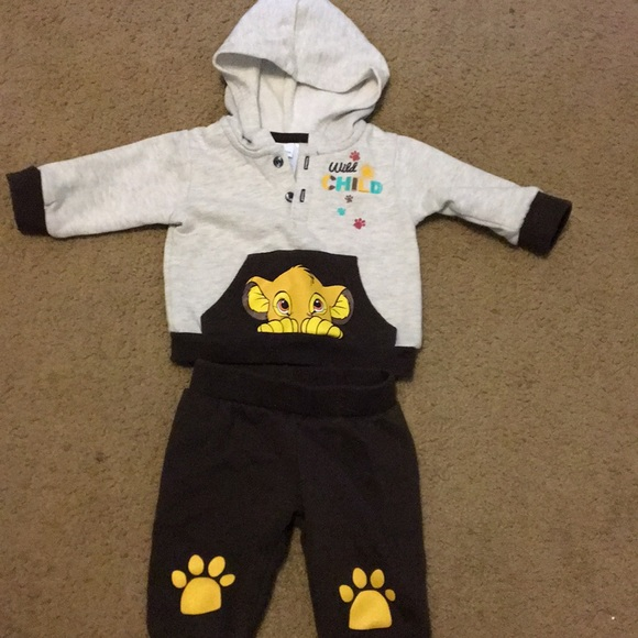 disney baby Matching Sets | Boys 03 Month Lion King Outfit ...