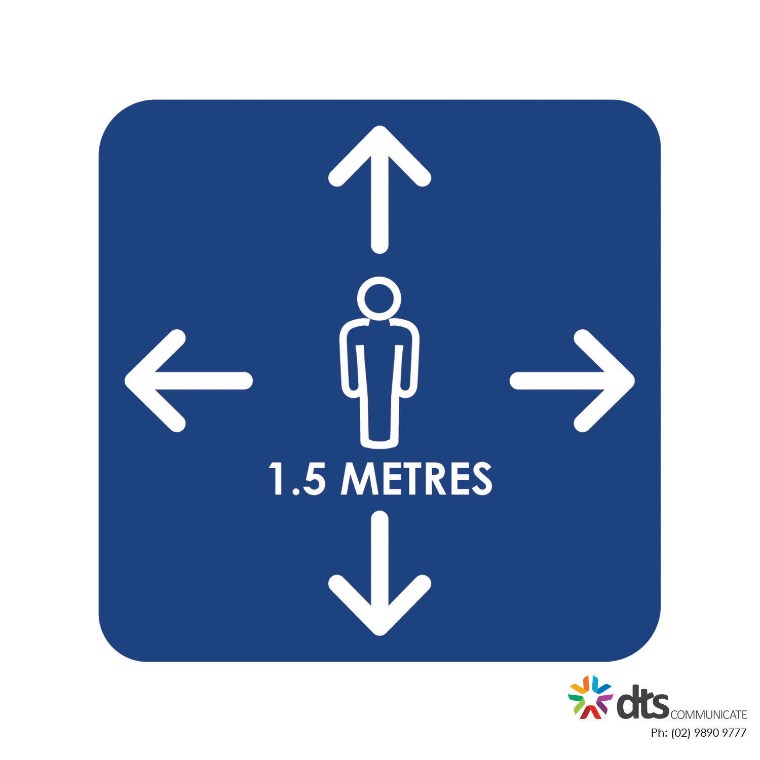XLART DTS Covid19 Covid Floor Stickers Decals Social Distancing Sydney Melbourne Australia person distance style 27