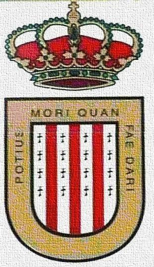 escudo coloreado de la villa de Garcíez