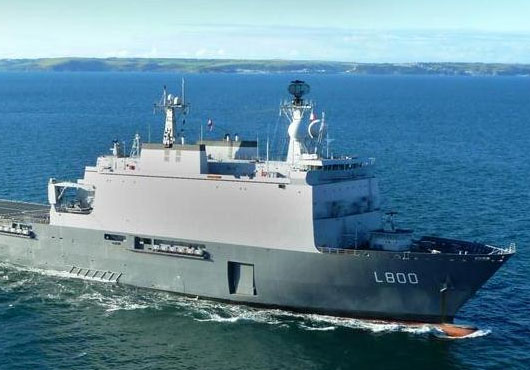 HNLMS Rotterdam Joins NATO Counterpiracy Operation