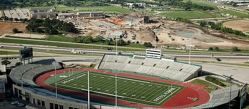UNT Aerials of the New Stadium – University of North Texas
