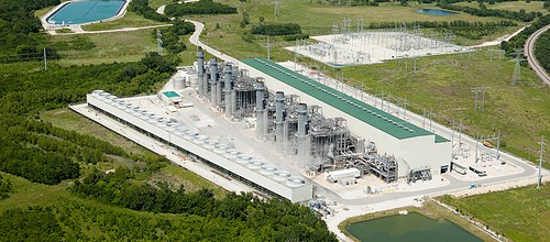 Forney Powerplant Aerials | Dallas Advertising Photography