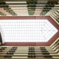 skylight of a hotel