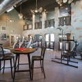 Workout room of an apartment complex in Dallas