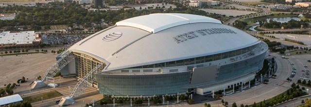 Cowboys A T&T Stadium Aerials