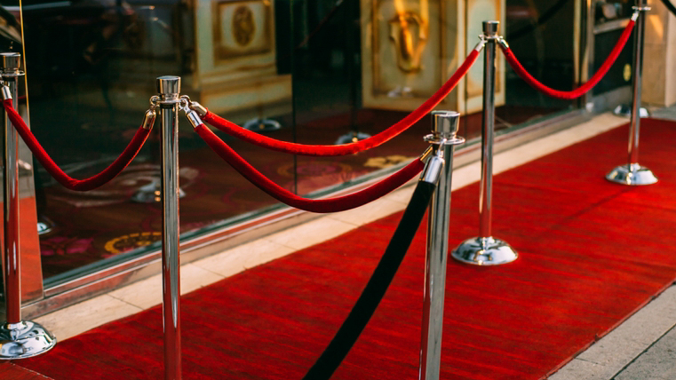 014 red carpet and stanchion
