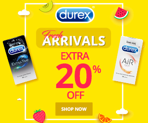 DurexIndia_CPS_Fresh_Arrival_Extra_20_Off_300x250
