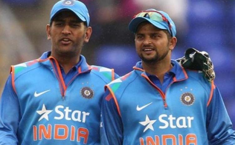 Suresh and dhoni reires