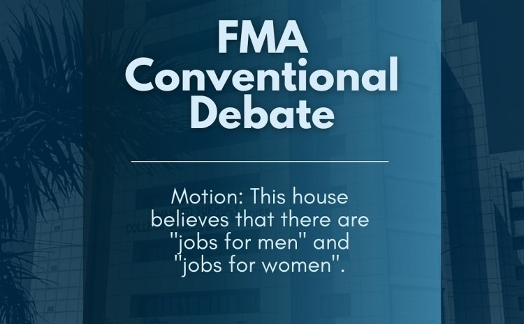 Women In Finance (WIF) Presents Debate Competition