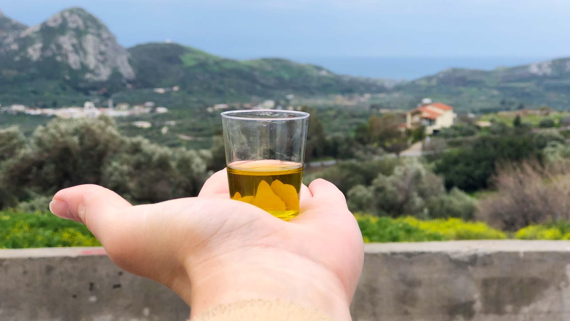 DU BIST GRIECHE besucht regionale Produzenten auf Kreta