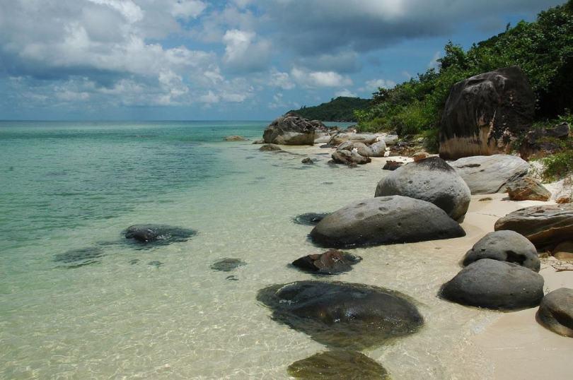 Hình ảnh Bãi Sao Phú Quốc trên wiki