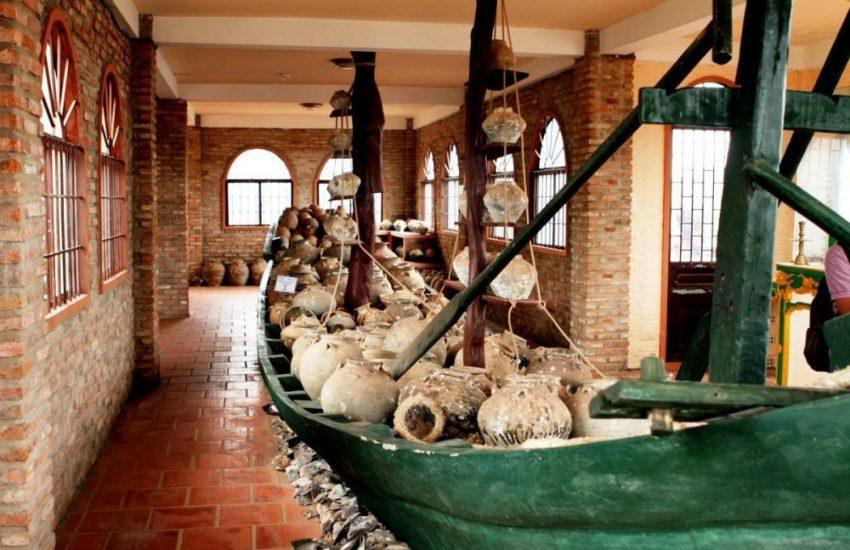 Các hiện vật trưng bày trong bảo tàng cội nguồn Phú Quốc