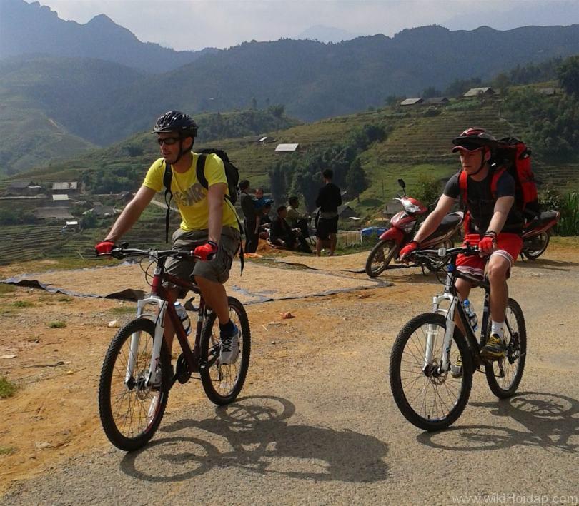 Thuê xe đạp ở Sa Pa