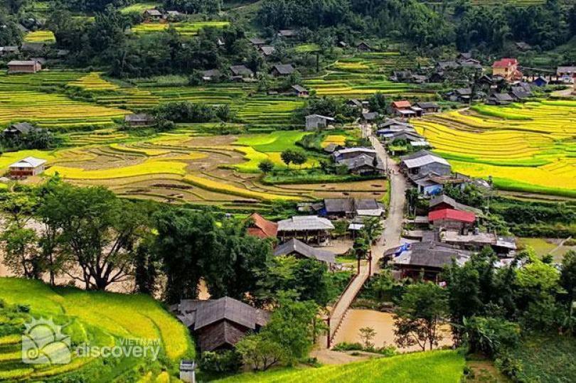 Đường vào xã Tả Phìn huyện Sapa
