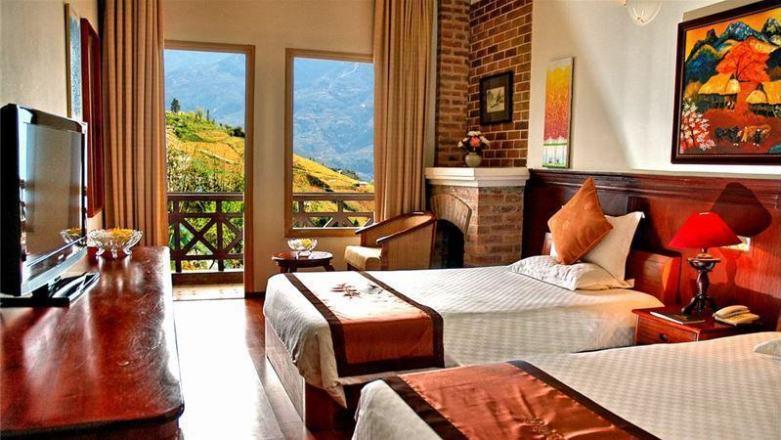 Khách sạn nào ở Sapa view đẹp: hình ảnh khách sạn Bamboo Sapa