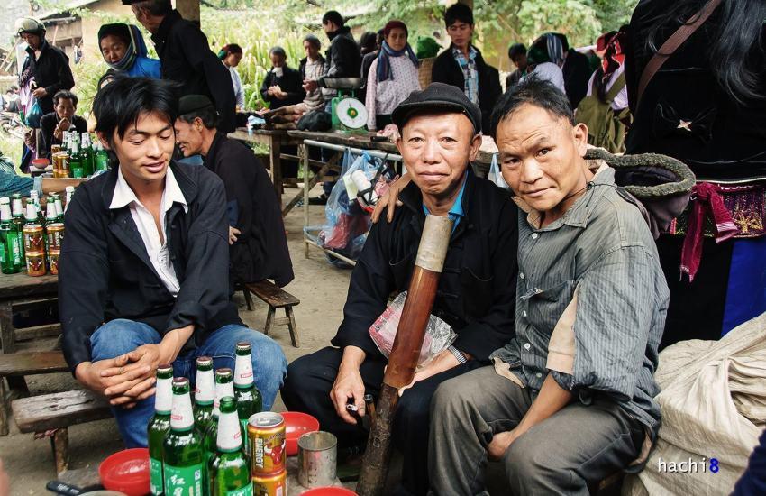 Check in phiên chợ Sà Phìn (1)