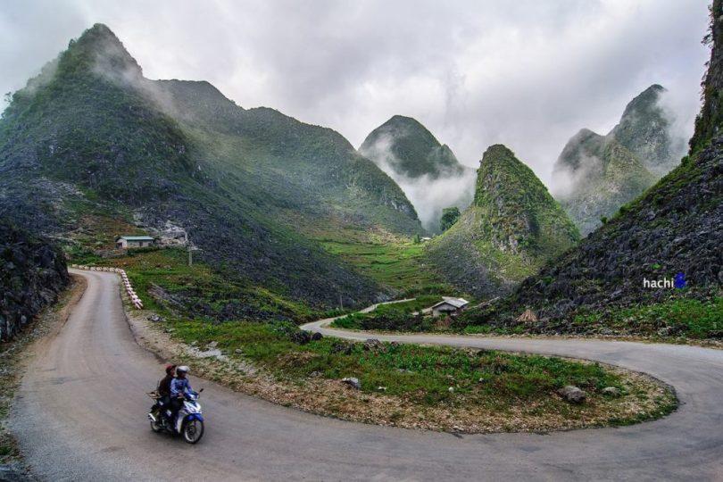 Hình ảnh đèo Mã Pì Lèng: những khúc lượn đẹp mê man