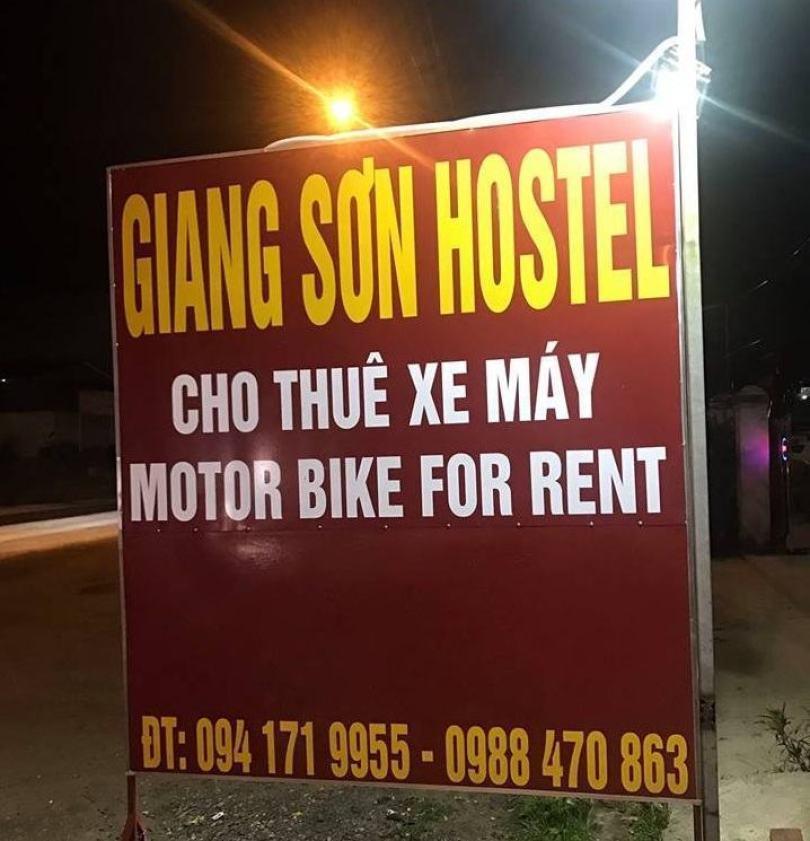 Cơ sở cho thuê xe máy của em Giang