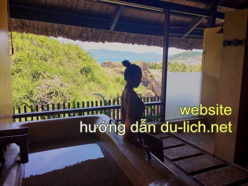 Các bể tắm bùn tại Amiana Resort Nha Trang