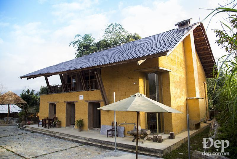 Toàn cảnh homestay Dao Lodge Nậm Đăm - Quản Bạ (1)