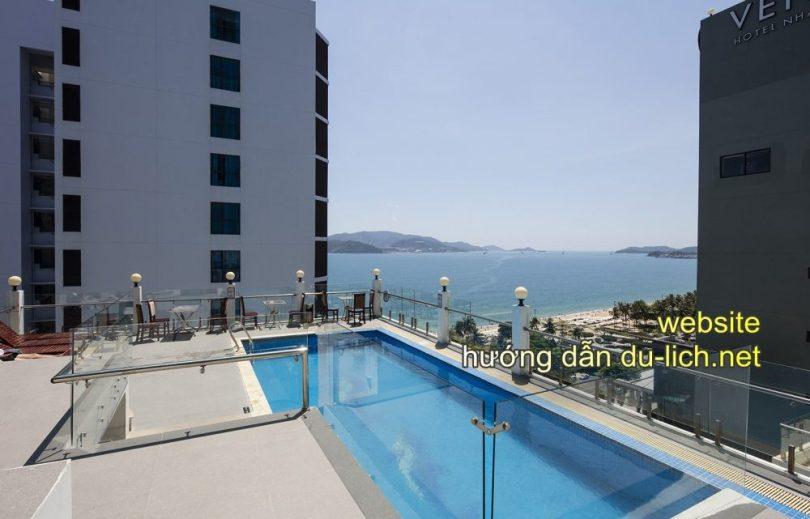 Hình ảnh bể bơi nóc khách sạn Sun City Nha Trang