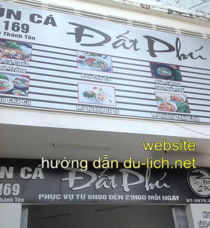 Review và hình ảnh quán bún cá Đất Phú ở Tuy Hòa