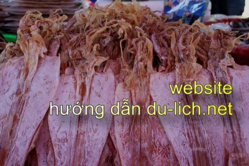 Đi Nha Trang nên mua quà gì:  mực khô Khánh Hòa
