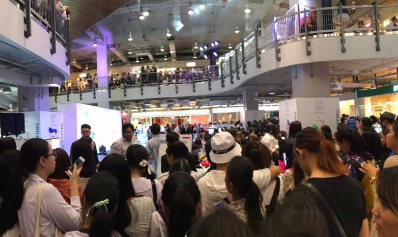 Bạn có thể như lạc vào động shopping tại Siam Square One