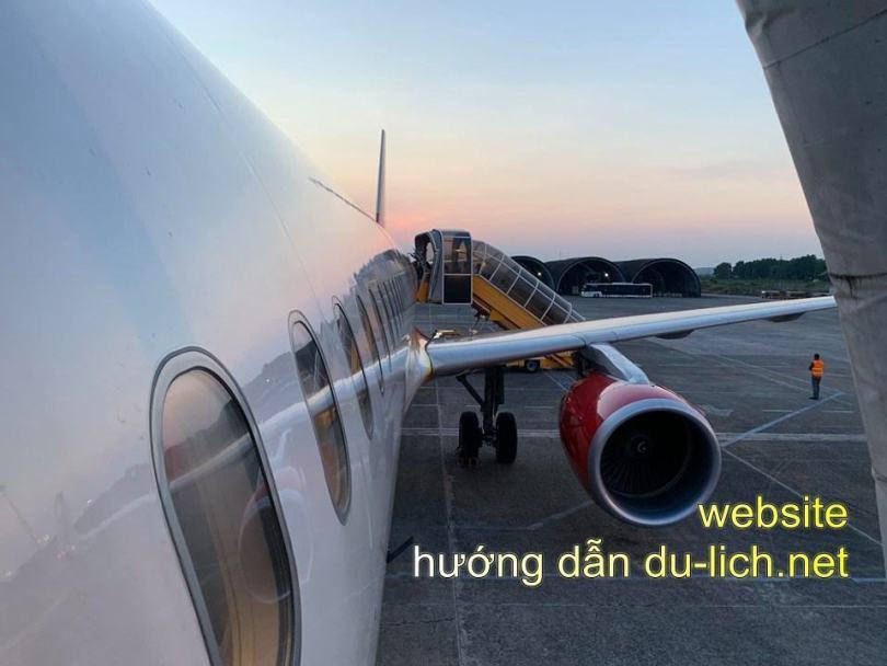 Hình ảnh chụp tại sân bay Chu Lai (2)