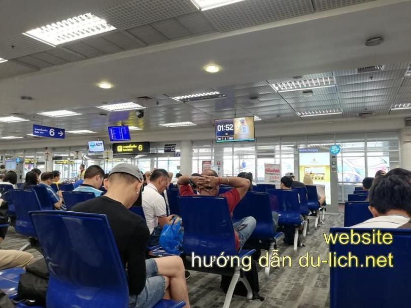 Hình ảnh tại sân bay Don Muang