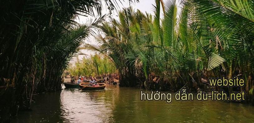 Hình ảnh rừng dừa Bảy Mẫu
