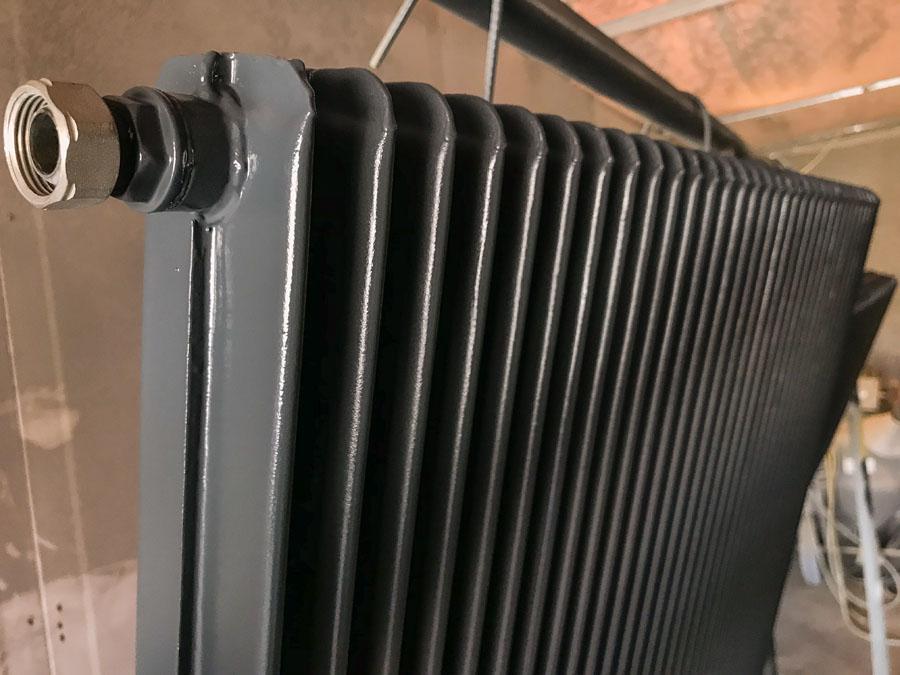 Rénovation de radiateur en fonte à Bordeaux