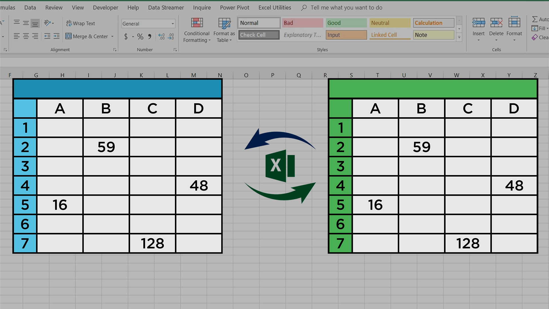 Compare Two Datasets Or Worksheets To Find Variances Excel