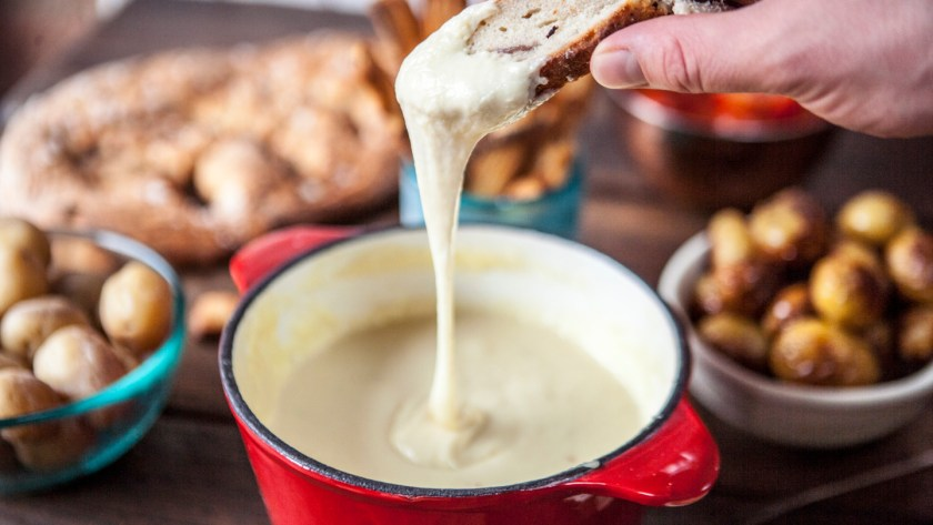 Image result for Swiss cheese fondue