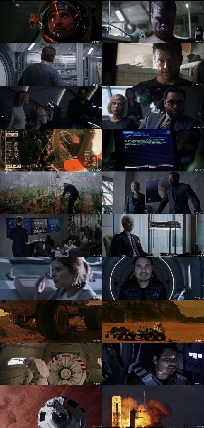 download the martian in hindi 720p
