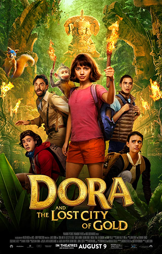 Dora and the Lost City of Gold 2019 720P BRRip Dual Audio