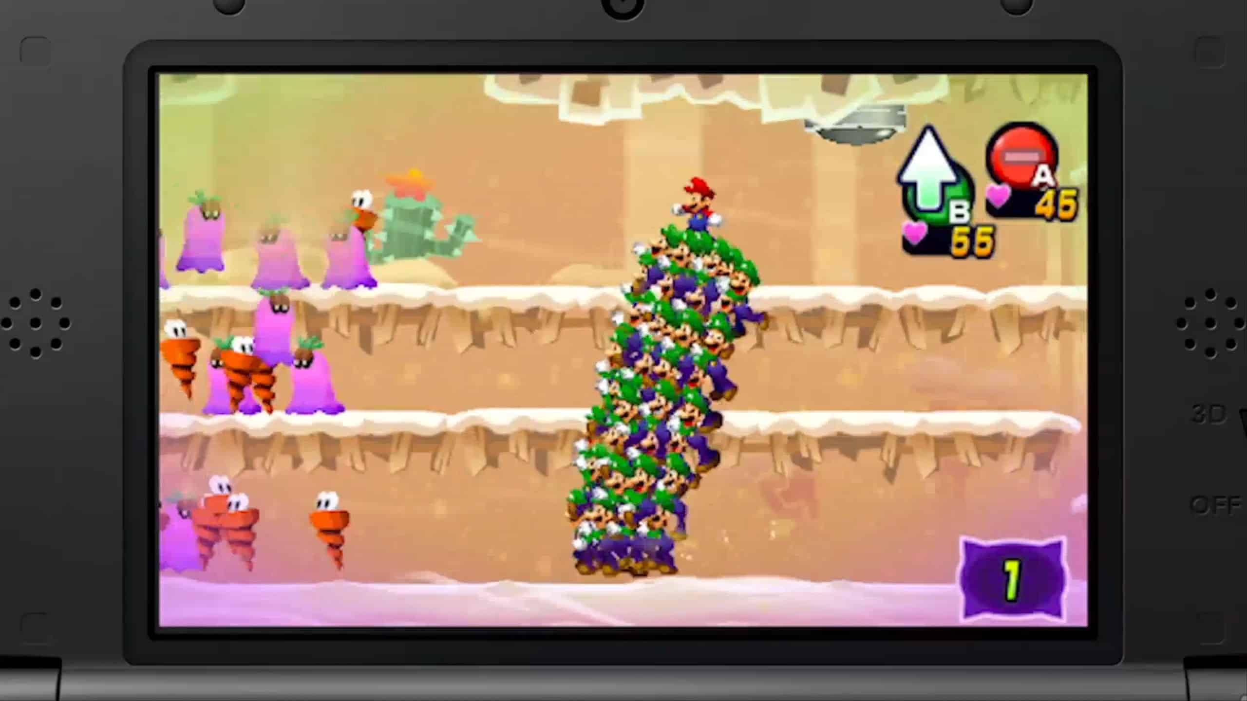 Mario Luigi Dream Team Announced Trailer Dual Pixels