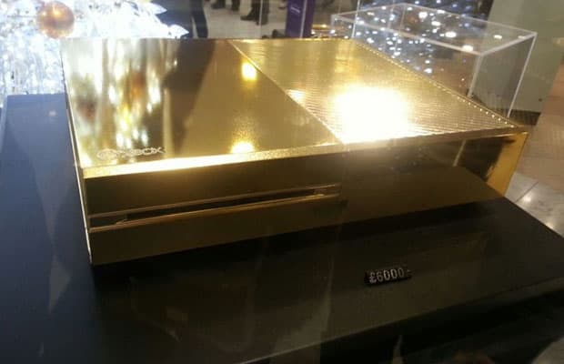 xbox one gold 24k 9 thousand