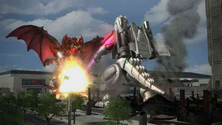 SuperMechaGodzilla_vs_Destroiya