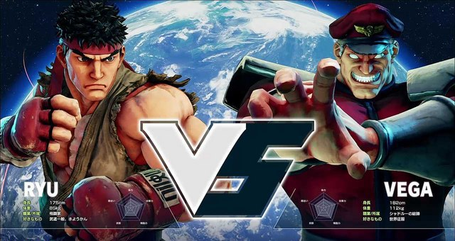 Street Fighter V Title