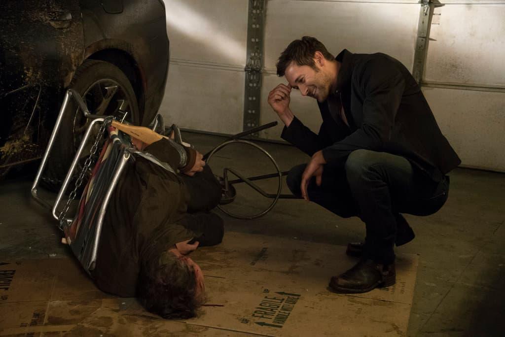 Tom Keen holds Karakurt captive