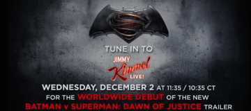 Batman V Superman From Jimmy Kimmel
