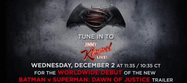 Batman V Superman From Jimmy Kimmel