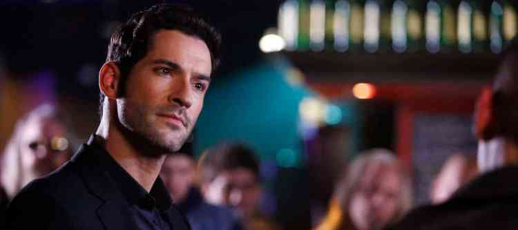 """LUCIFER: Tom Ellis in the """"Favorite Son"""" episode of LUCIFER airing Monday, Feb. 29 (9:01-10:00 PM ET/PT) on FOX. ©2016 Fox Broadcasting Co. CR: Michael Courtney/FOX"""